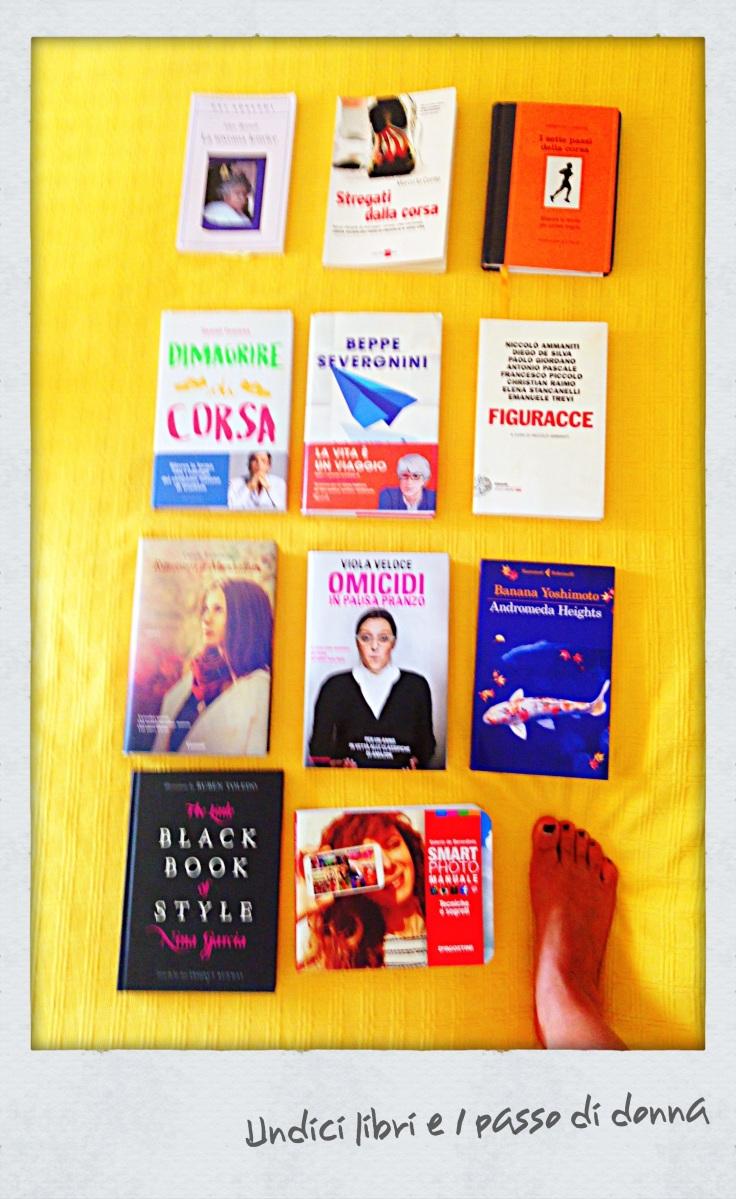 [Undici libri e un passo di donna]